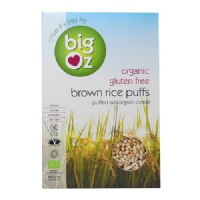 Big Oz Organic Brown Rice Puffs 500g